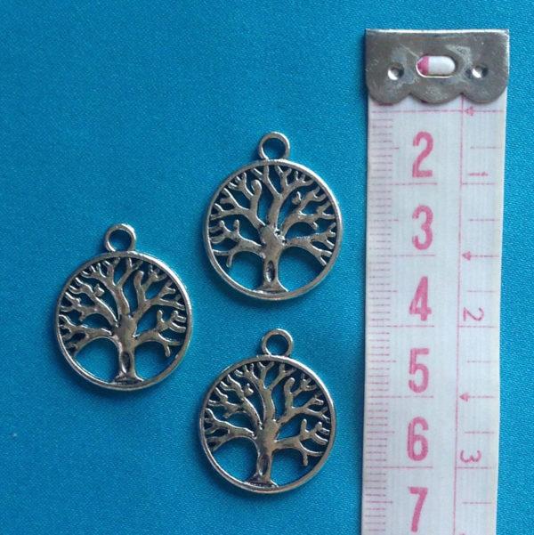 bedeltje-levensboom-tibetaans-zilver