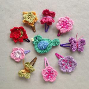 haarspeltjes--vlinder-bloemetje-gehaakte-haarspeldjes