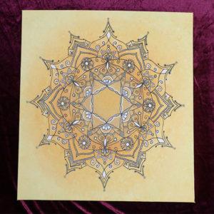 mandala-geel-lotusblad-esoterisch-sanskriet-hartchakra