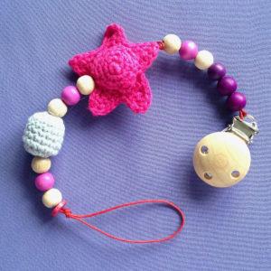 speenkoord-gehaakte-ster-gehaakte-kraal-roze