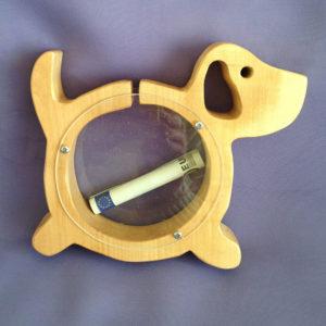 spaarpot-hout-hond-hondje-