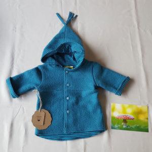 blauw-jasje-100%wol-babyjasje-kabouterjasje-natuurlijkmateriaal--handgemaakt-handmade
