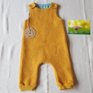 geel--baby-salopet-babybroekje-babykleding-100%wol-antroposofisch-maat68