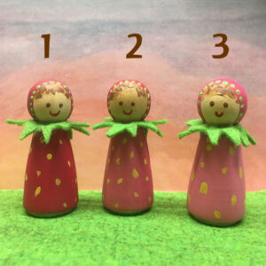 Aardbei-4-kegelpopje-fruit-zomerkoninkje-lentepopje