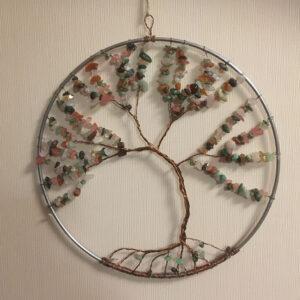 raamhanger-zoisite-rozenkwarts-edelsteentjes-cherrykwarts-zoisite-levensboom