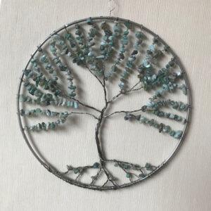 Levensboom-Larimar-2-raamdecoratie-edelsteen-edelstenen--paars-