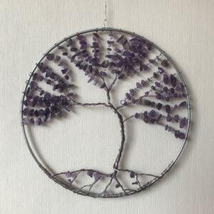 Levensboom-amethist-raamdecoratie-edelsteen-edelstenen--paars-